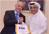 ملاقات رؤسای فیفا و AFC در بحرین