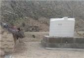 43 مخزن نگهداری آب در روستاهای هرمزگان توزیع شد