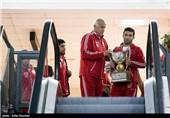 تیم ملی کشتی آزاد کشورمان به ایران بازگشت/بازگشت کاروان 3 نفره وزنهبرداری به ایران + عکس