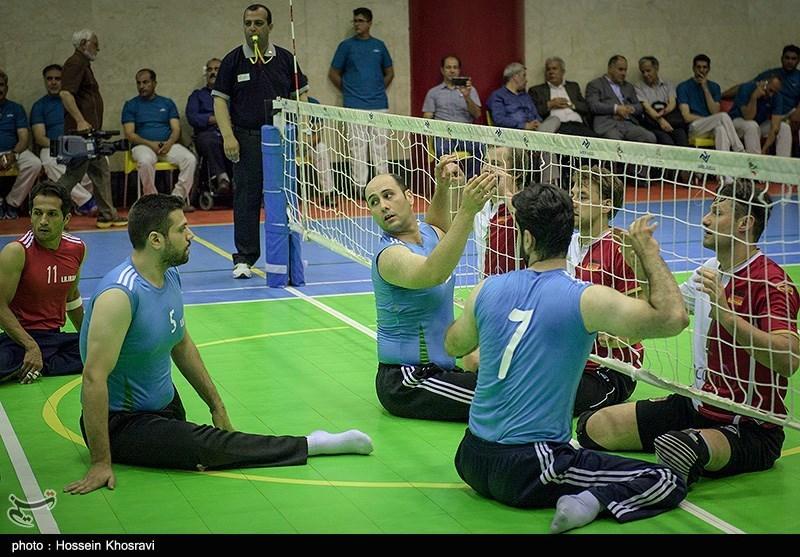 دیدار تیم های والیبال نشسته ایران و آلمان