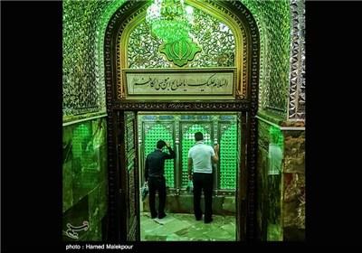 حرم امامزاده صالح بن موسی الکاظم(ع) در ماه رمضان