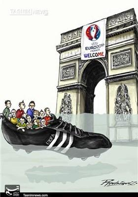 کاریکاتور/ سیل در مسابقات یورو 2016