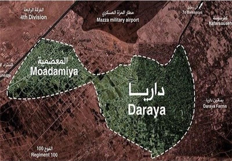 Suriye Ordusu Şam Kırsalındaki 42 Yerleşim Alanını Teröristlerden Temizledi