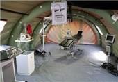 ارائه خدمات پزشکی به 5 هزار زائراربعین در درمانگاه صحرایی همدان