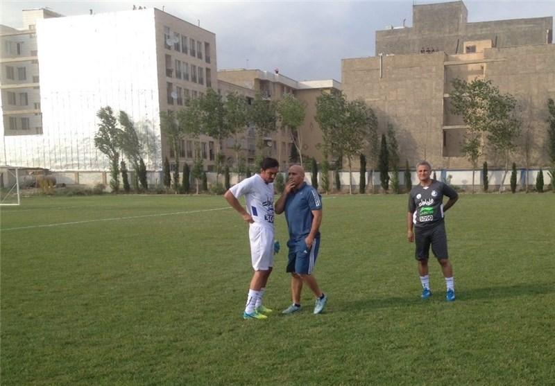 منصوریان - تمرین استقلال