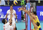 FIVB Volleyball World League: Iran Loses to Brazil