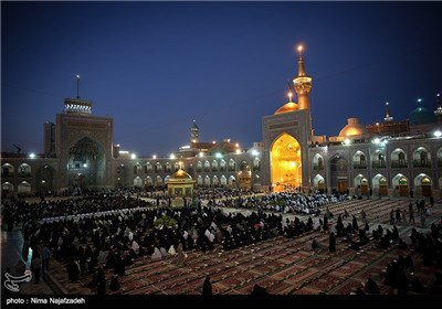 Pilgrims Recite Quran at Imam Reza Shrine in Mashhad