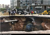 خسارت ناشی از انفجار لوله گاز -شهران