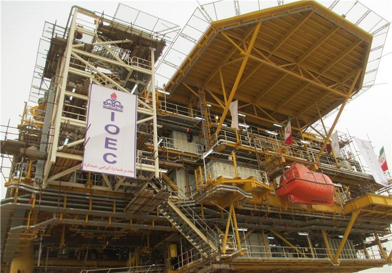 سکوی نفتی فاز 19a پارس جنوبی شرکت مهندسی و ساخت تأسیسات دریایی ایران تأسیسات دریایی خرمشهر یارد تأسیسات دریایی خرمشهر