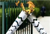 مشعل المپیک بالاخره به ریو رسید + تصاویر