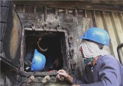 کار عجیب در ایران روزه داری در دمای 75 درجه