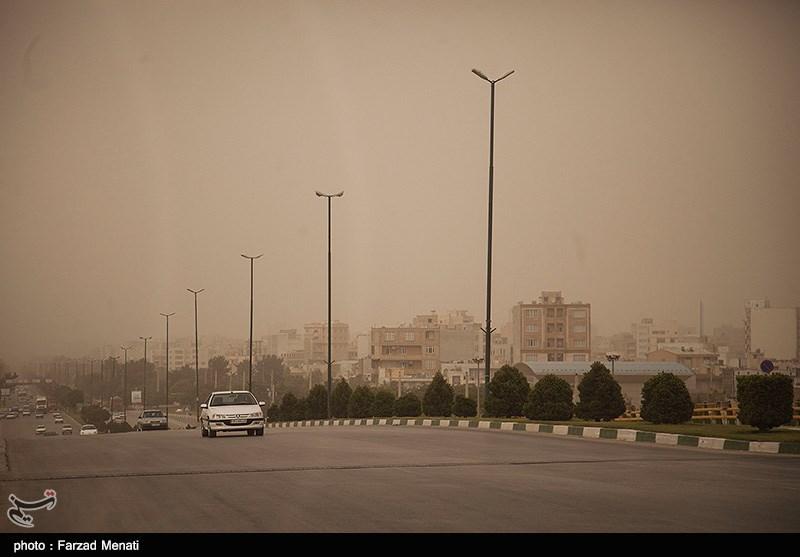 گرد و غبار شدید در کرمانشاه