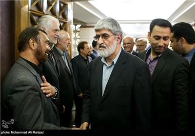حضور علی مطهری نائب رئیس مجلس شورای اسلامی در مراسم بزرگداشت حمید سبزواری