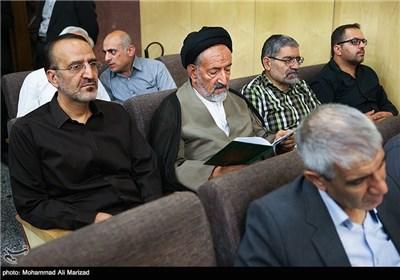 حضور حجت الاسلام دعایی در مراسم بزرگداشت حمید سبزواری