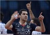 محمودی امتیازآورترین بازیکن ایران در بازی مقابل ایتالیا شد