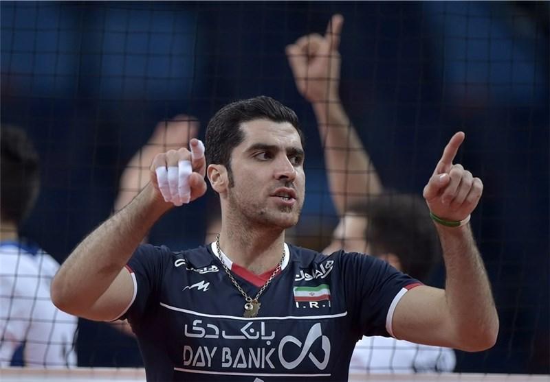 محمودی امتیازآورترین بازیکن ایران مقابل صربستان شد