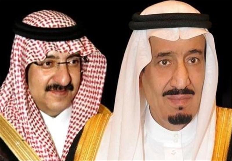 سعودی بادشاہ کا بن نائف کو برطرفی کے بعد پہلا پیغام