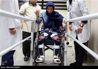 مراحل درمان سارا عبدالملکی قهرمان راگبی