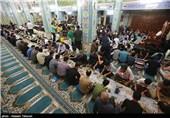 سفره های افطاری در مساجد جزیزه کیش