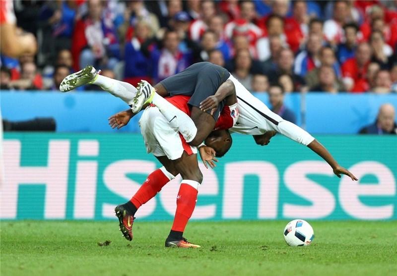 """فرنسا تتعادل مع سویسرا وتمزق """"بوما"""" + صور"""