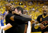 کلیولند با شکست گلدناستیت برای اولین بار قهرمان NBA شد