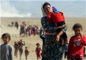 زن ایزدی عراق آواره