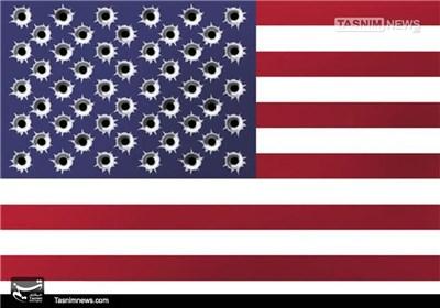 کاریکاتور/ ادامه خشونتهای مسلحانه در آمریکا