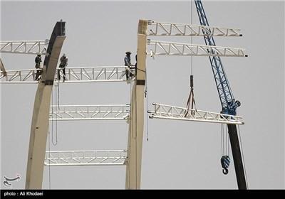 آخرین وضعیت ساخت ورزشگاه نقشجهان اصفهان