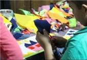 جشنواره مشاغل و حرفهآموزی ویژه کودکان کار مدرسه صبح رویش