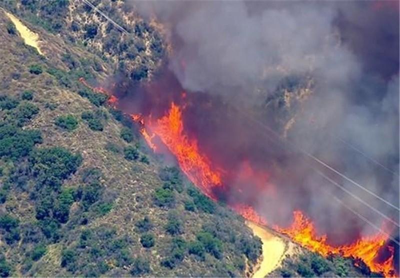 آتش جنگل لسآنجلس