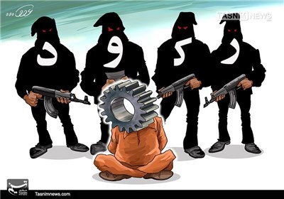 کاریکاتور/ رکود تروریسم اقتصادی!!!