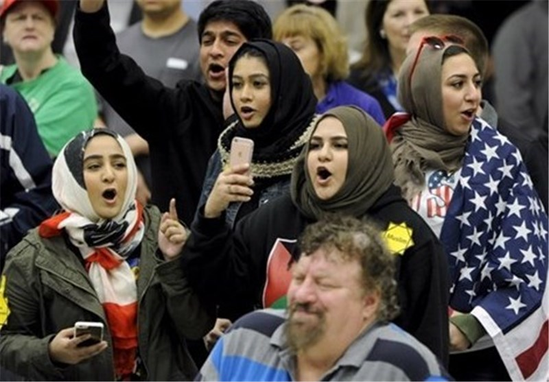 American Muslims Stage Rally to Protest Rising Islamophobia