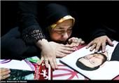 وداع با اولین شهید رزمیکار مدافع حرم+فیلم