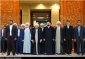 تجدید میثاق رئیس و مسئولان عالی قوه قضائیه با آرمانهای امام راحل