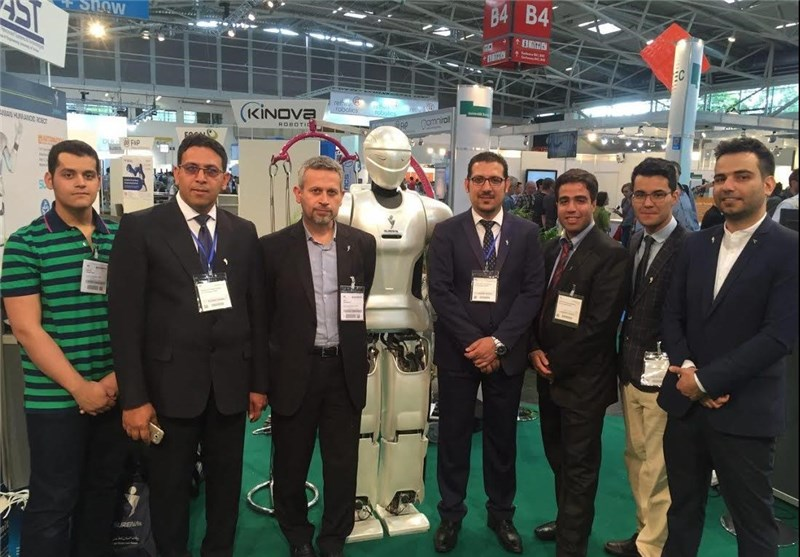 Iran Displays Homegrown Humanoid Robot in Germany