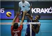 تیم ملی والیبال ایران مقابل برزیل شکست خورد