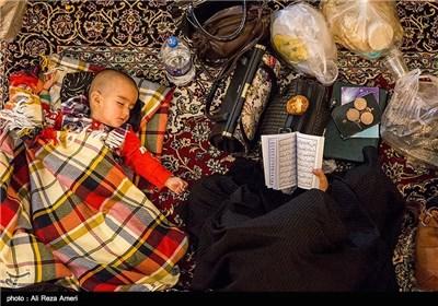 احیای شب نوزدهم رمضان در حرم شاهچراغ (ع)