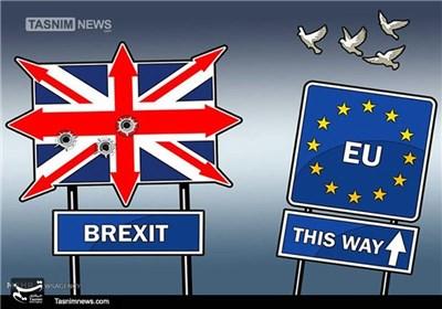 کاریکاتور/ خروج بریتانیا از اتحادیه اروپا