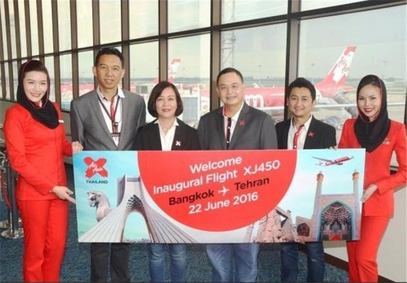 Thai AirAsia X Begins Direct Flights to Tehran