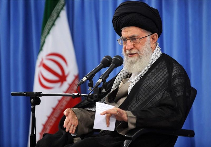 """امام خامنهای: اینکه فردی مکرر به قوای مختلف تهمت میزند """"هنر"""" نیست/ هر کودکی میتواند با سنگ شیشهای را بشکند"""