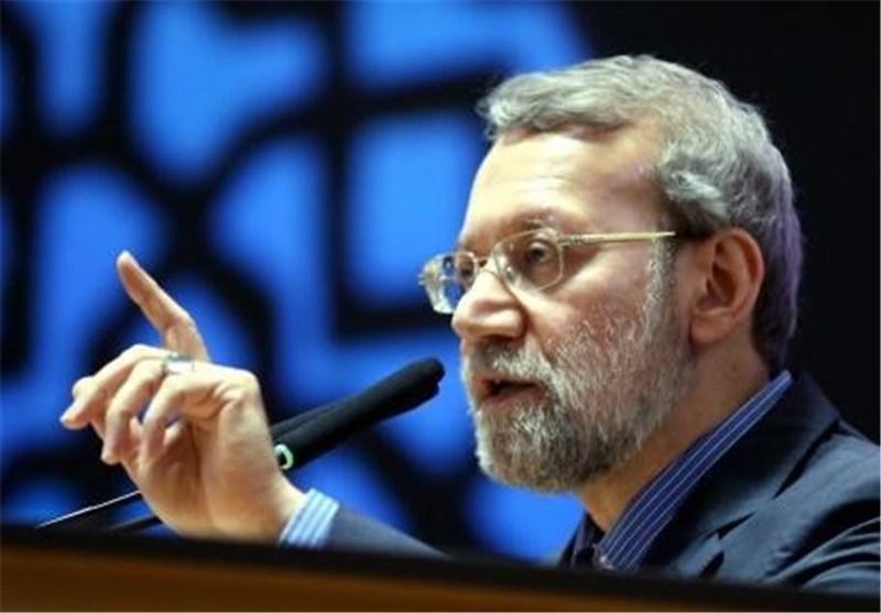 لاریجانی: السعودیة لم تطلق طوال تاریخها رصاصة واحدة بإتجاه الکیان الصهیونی
