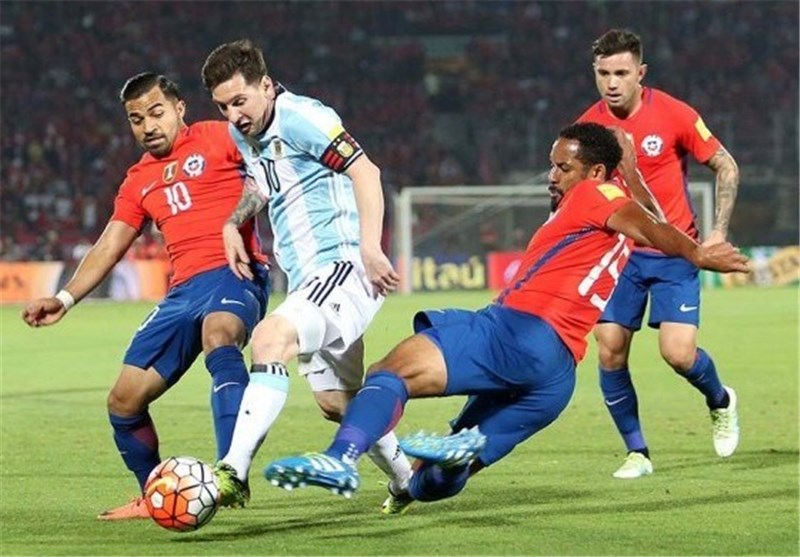 لیونل مسی و شیلی