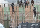 Migrants Storm Spain-Morocco Border Fence