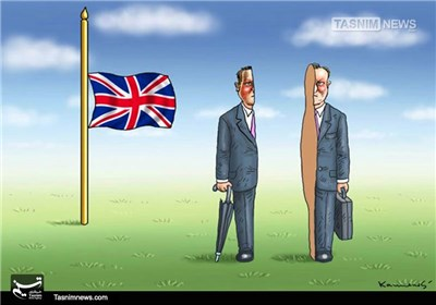 کاریکاتور/ جدایی انگلیس از اتحادیه اروپا