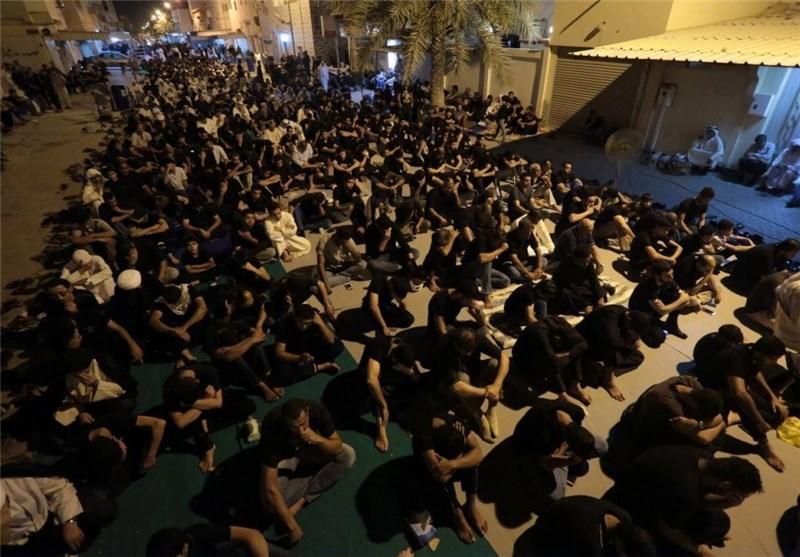 تحصن بحرینی ها در مقابل منزل شیخ عیسی قاسم