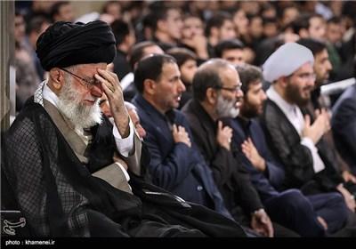 إقامة مراسم العزاء بذکرى استشهاد أمیر المؤمنین (ع) بمشارکة قائد الثورة الاسلامیة -الیوم الثاني