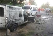 4 انفجارات قرب مرکز الجمارک على الحدود اللبنانیة فی منطقة القاع