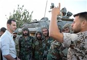 Assad Lauds Syrian Army's Devotion to Duty