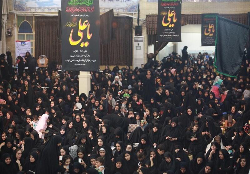 راز و نیاز مردم استان بوشهر در دومین شب از لیالی قدر+تصاویر