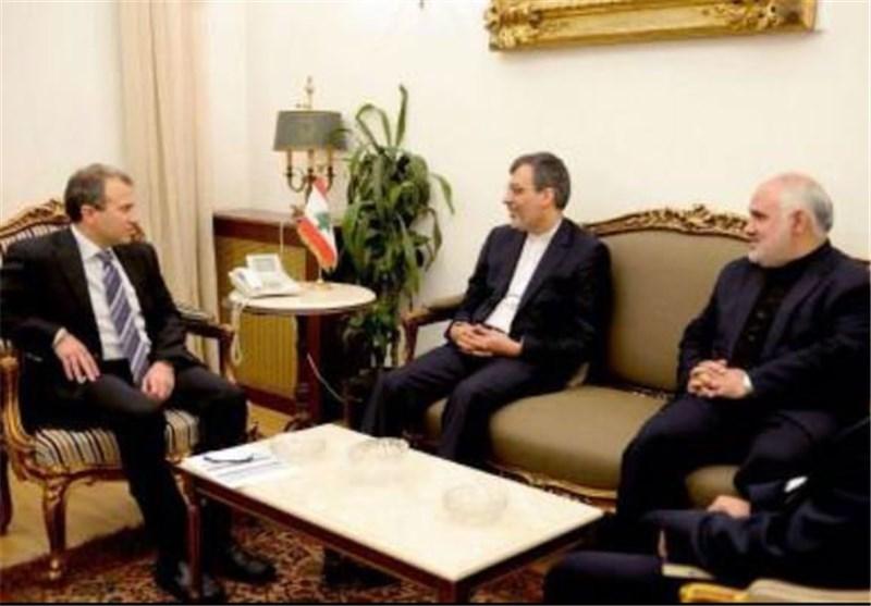 جابری أنصاری یجری مباحثات مع مسؤولین لبنانیین